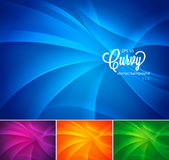 Curvy abstract background vol 2 Stock Images