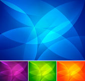 Curvy abstract background. Series, file format EPS 10 Royalty Free Stock Photo
