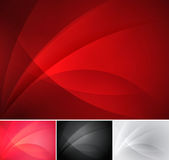 Curvy abstract background Royalty Free Stock Image