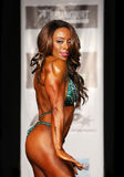 Curvy, Buff Bodybuilding Babe Royalty Free Stock Photography