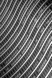 curvy byggande arkivfoto