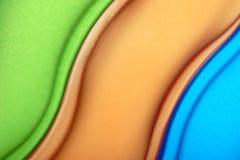 Curvy contour Stock Images