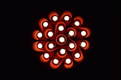 Curvy light Royalty Free Stock Image