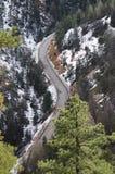 Curvy Mountain Road Stock Photos