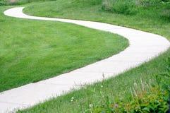 Curvy path Stock Photo