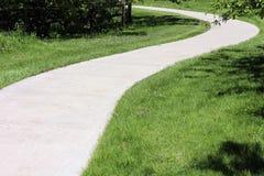 Curvy path Stock Photography