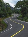 Curvy Road Stock Photography
