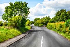 Curvy road Royalty Free Stock Photography