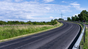 Curvy road Stock Photography
