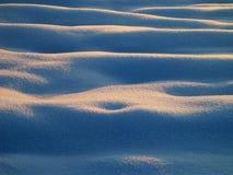 Curvy sinnliches Schnee-Detail 2 Lizenzfreie Stockfotos