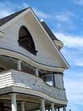 Curvy Victorian Seaside Home, Ocean Grove, NJ Royalty Free Stock Photo