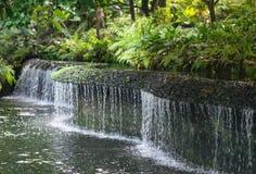 Curvy Wasserfall Lizenzfreies Stockbild