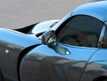 Curvylijnen op tvr sportscar Toscaan Stock Foto