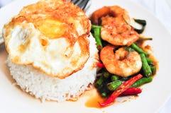 cury泰国的shrim 库存图片