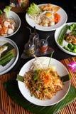 Cuscinetto del pollo tailandese Fotografie Stock