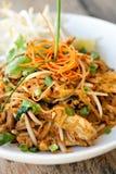 Cuscinetto del pollo tailandese Immagini Stock