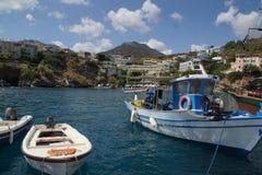 Cuscinetto del porto in Creta - Europa immagini stock libere da diritti