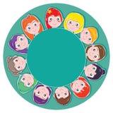 Cuscinetto della tazza dei bambini Fotografia Stock Libera da Diritti