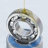 Cuscinetto a sfera di lubrificazione illustrazione vettoriale