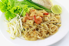 Cuscinetto tailandese dell'alimento tailandese Immagini Stock Libere da Diritti
