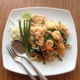 Cuscinetto tailandese dell'alimento tailandese Fotografia Stock
