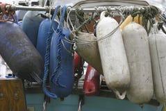 Cuscini ammortizzatori Fotografie Stock