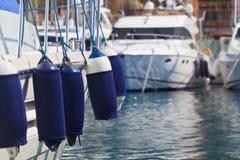 Cuscini ammortizzatori della barca Immagine Stock Libera da Diritti