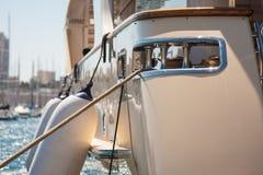 Cuscini ammortizzatori della barca Fotografie Stock Libere da Diritti