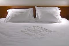 Cuscini bianchi Immagini Stock
