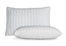 Cuscini bianchi Fotografia Stock