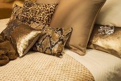 Cuscini decorativi fotografia stock
