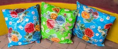 Cuscini floreali sudoccidentali immagine stock libera da diritti