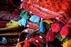 Cuscini indiani Fotografia Stock Libera da Diritti