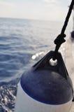 Cuscino ammortizzatore della barca Fotografia Stock Libera da Diritti