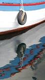 Cuscino ammortizzatore della barca fotografie stock libere da diritti