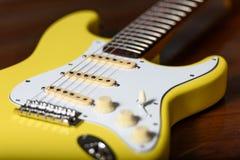 Cuscino ammortizzatore di abitudine della chitarra elettrica Immagine Stock Libera da Diritti