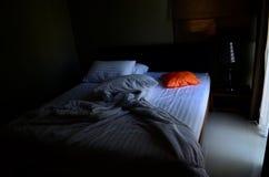 Cuscino arancione fotografia stock libera da diritti