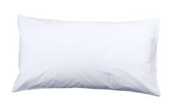 Cuscino bianco Fotografia Stock