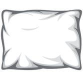 Cuscino bianco Immagini Stock Libere da Diritti