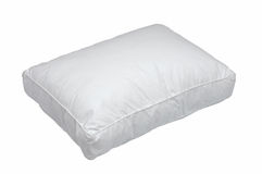Cuscino bianco Immagine Stock