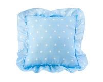 Cuscino blu-chiaro piacevole del bambino Fotografia Stock Libera da Diritti
