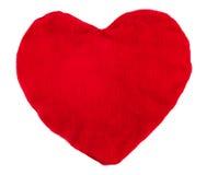 Cuscino del cuore Fotografie Stock