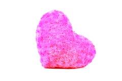 Cuscino del cuore Fotografie Stock Libere da Diritti