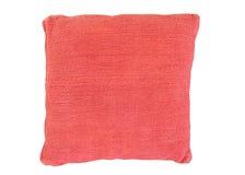 Cuscino del sofà con la copertura del velluto Fotografia Stock
