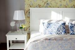 Cuscino della camera da letto Immagine Stock Libera da Diritti