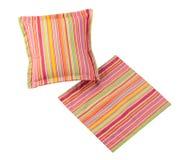 Cuscino di colore della striscia Immagini Stock