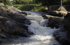 Cuscino Lava River Fotografia Stock Libera da Diritti