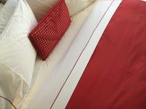 Cuscino rosso Fotografia Stock