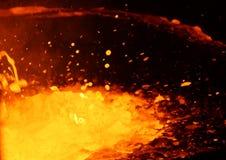 Cuscino su fuoco Immagine Stock Libera da Diritti