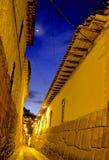 cusco印加秘鲁街道 免版税库存照片